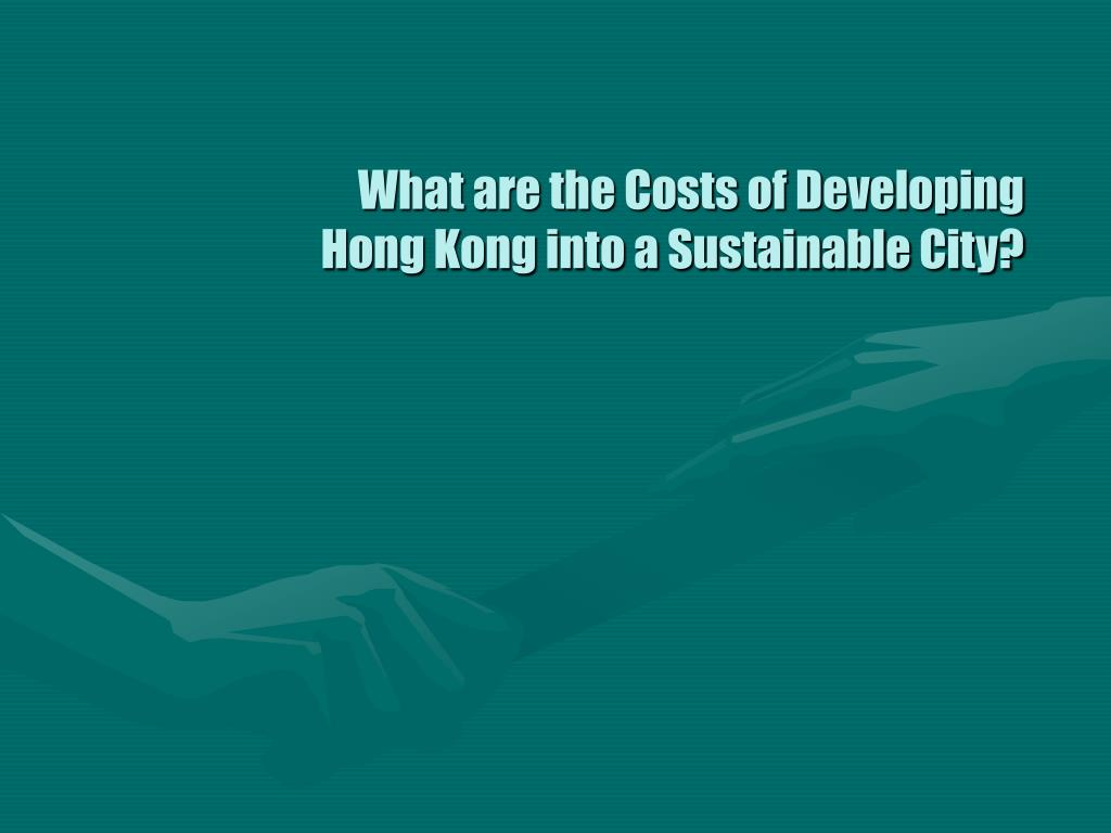 What are the Costs of Developing