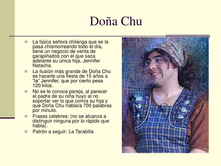 Doña Chu