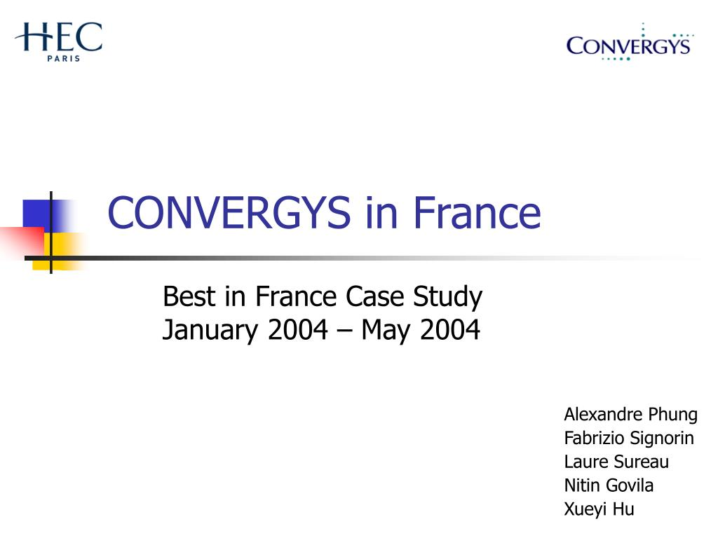 CONVERGYS in France