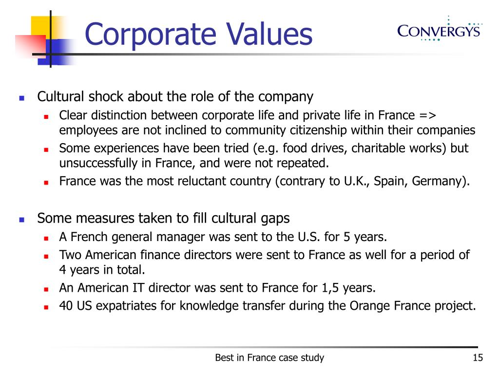 Corporate Values