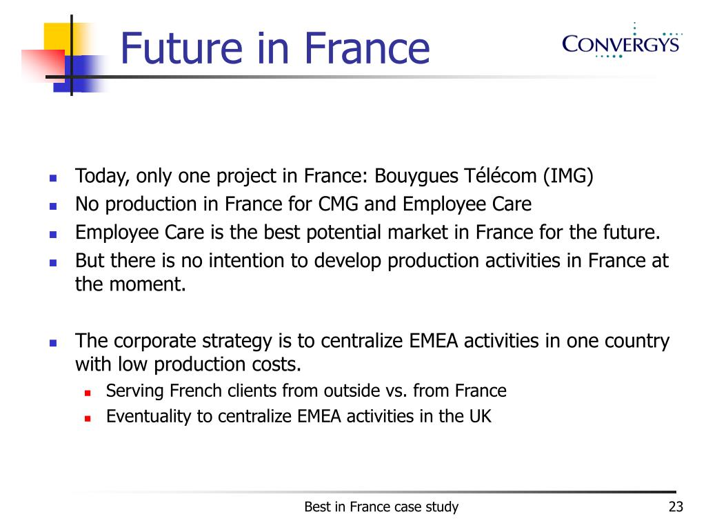 Future in France
