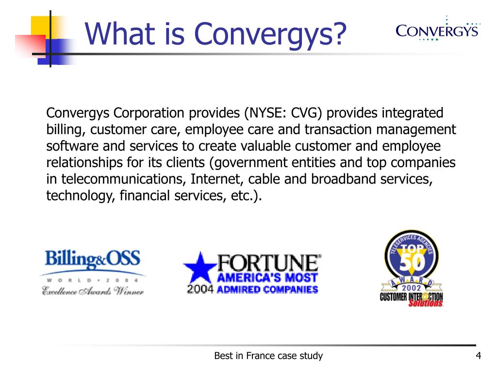 What is Convergys?