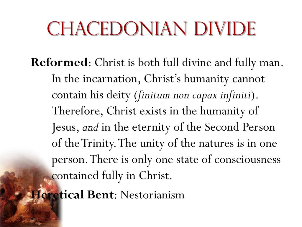 Chacedonian divide