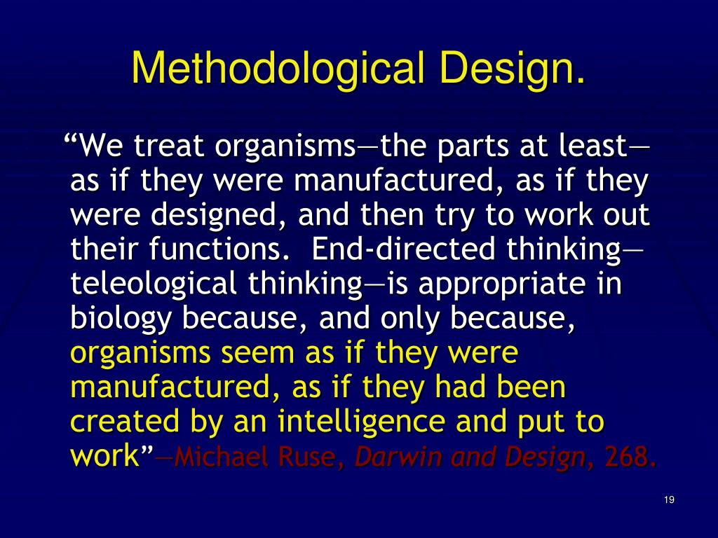 Methodological Design.