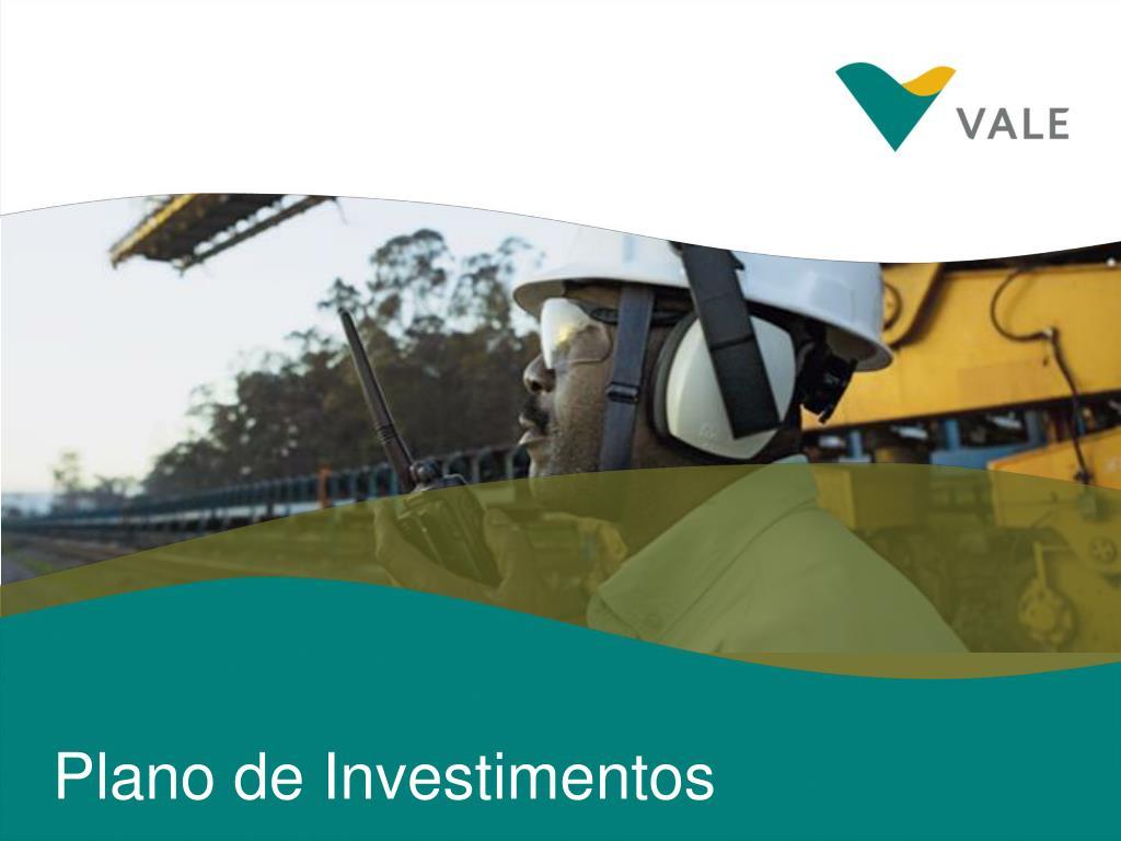 Plano de Investimentos