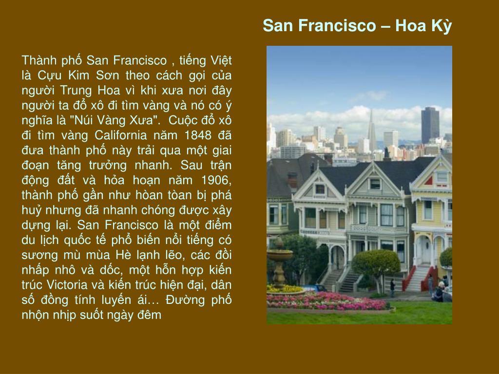 San Francisco – Hoa Kỳ