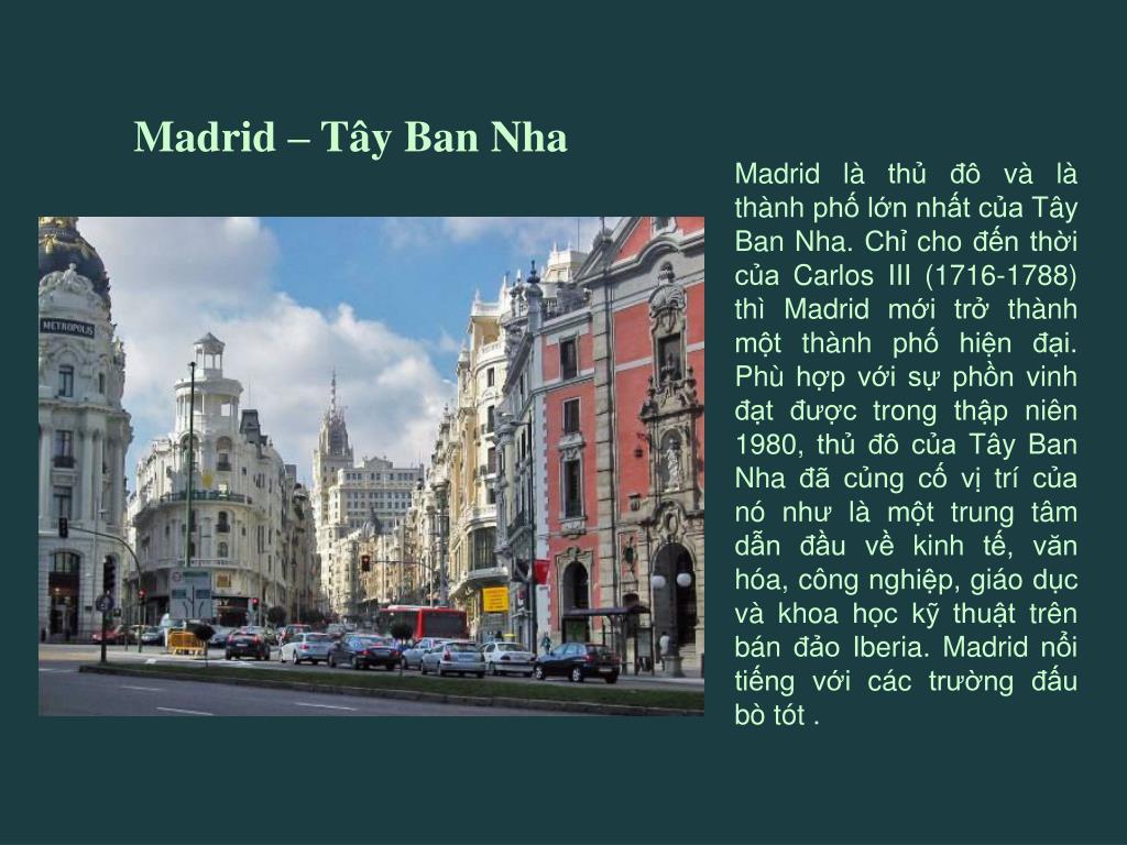 Madrid – Tây Ban Nha