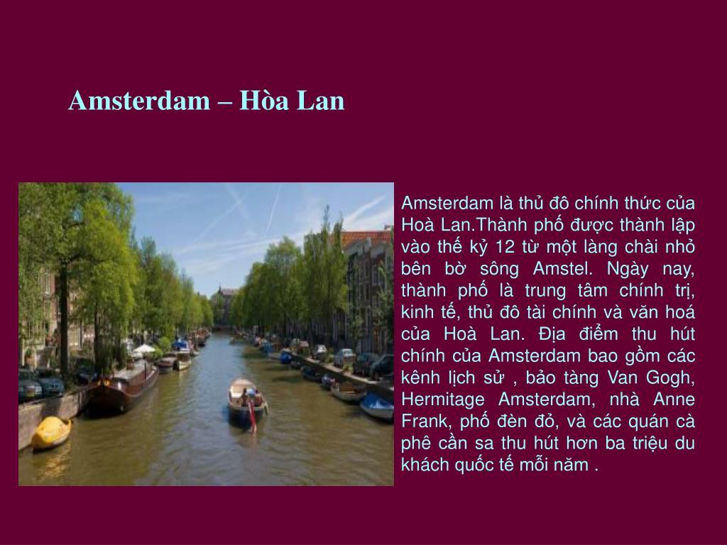 Amsterdam – Hòa Lan