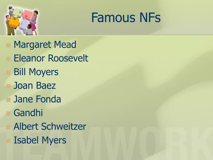 Famous NFs