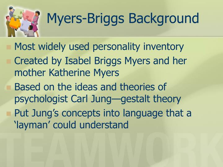 Myers-Briggs Background