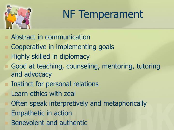 NF Temperament