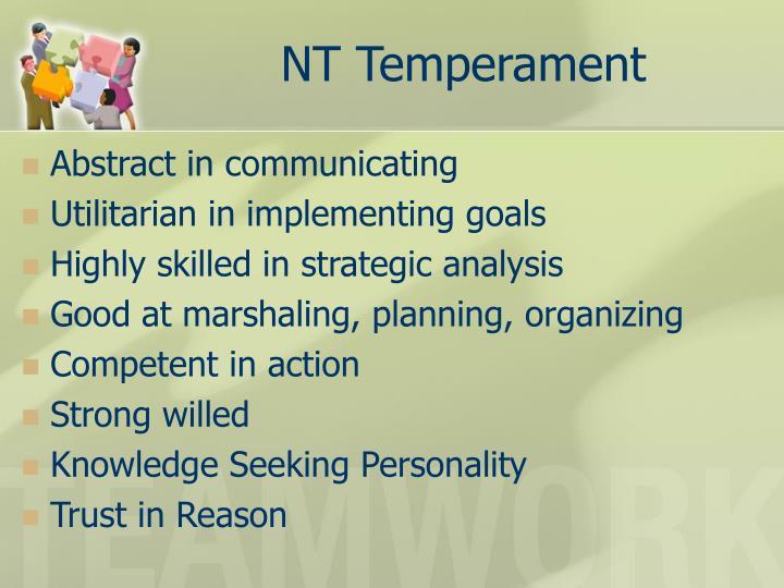 NT Temperament
