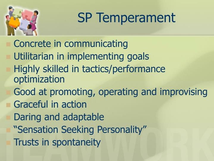 SP Temperament