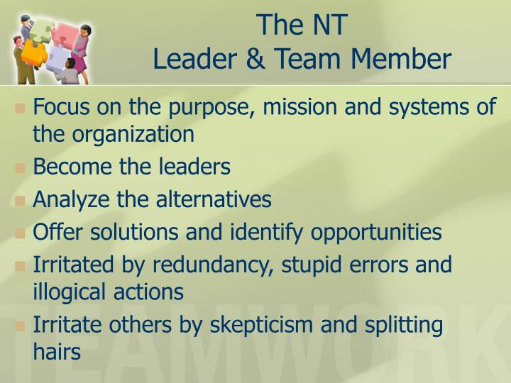 The NT