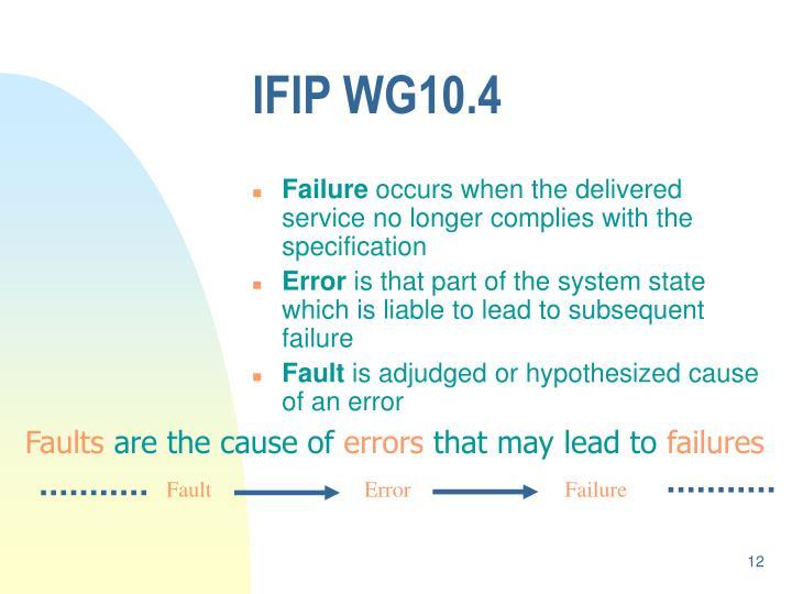 IFIP WG10.4