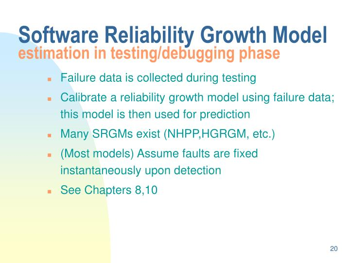 Software Reliability Growth Model