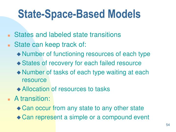 State-Space-Based Models
