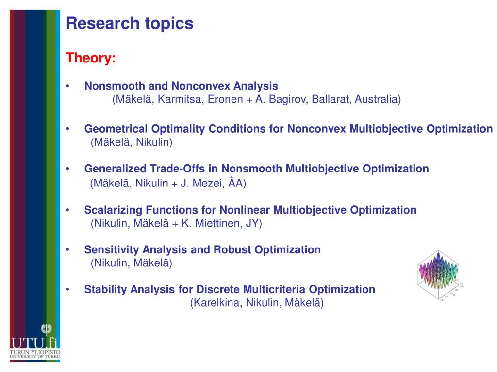 Research topics