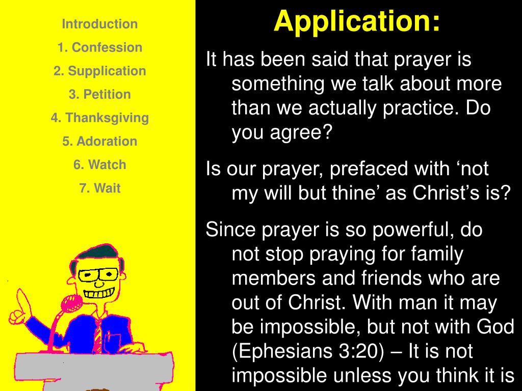 Application: