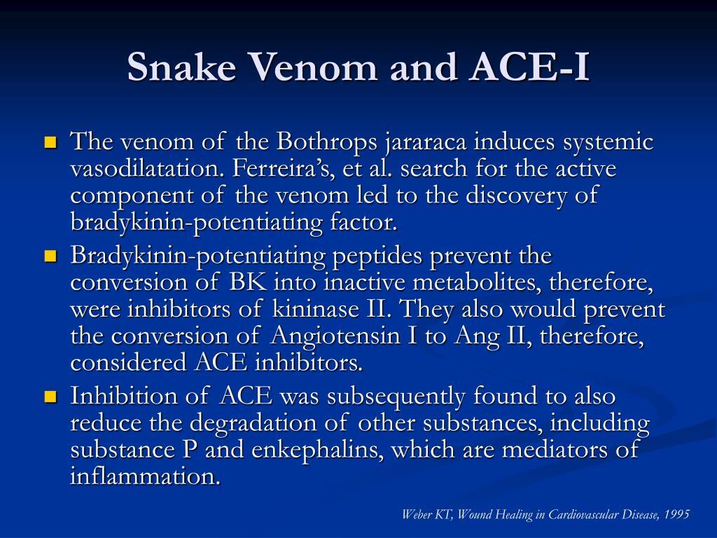 Snake Venom and ACE-I