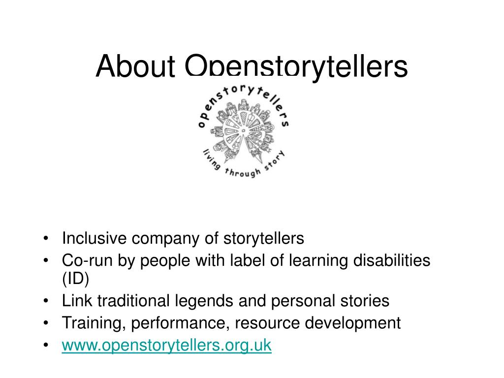 About Openstorytellers