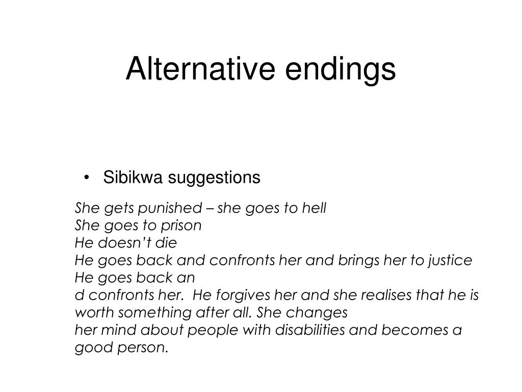 Sibikwa suggestions