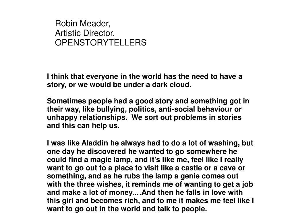 Robin Meader,
