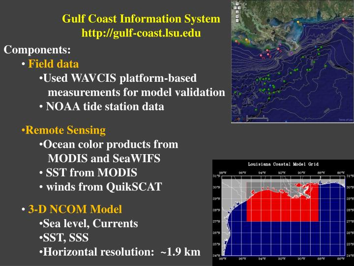 Gulf Coast Information System
