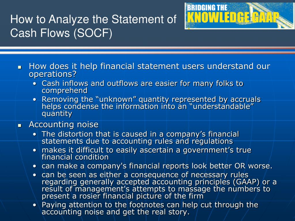 How does it help financial statement users understand our operations?