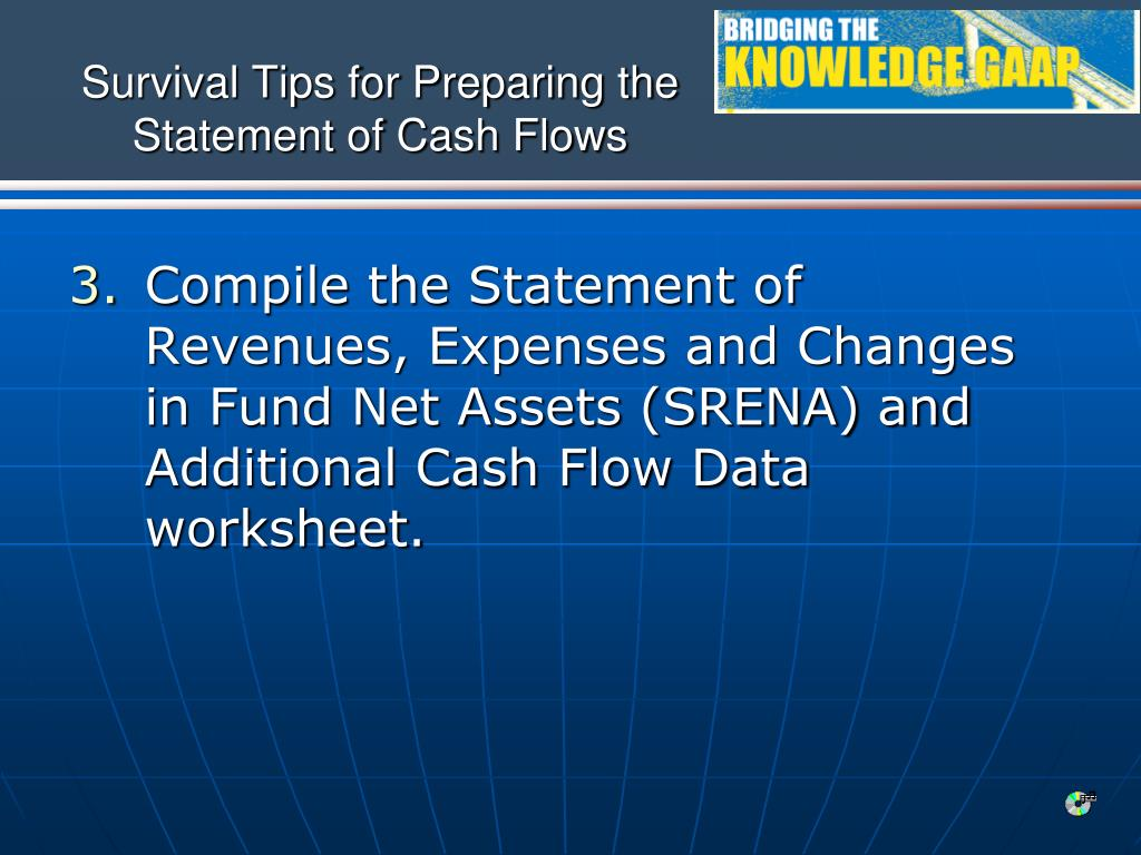 Survival Tips for Preparing the Statement of Cash Flows