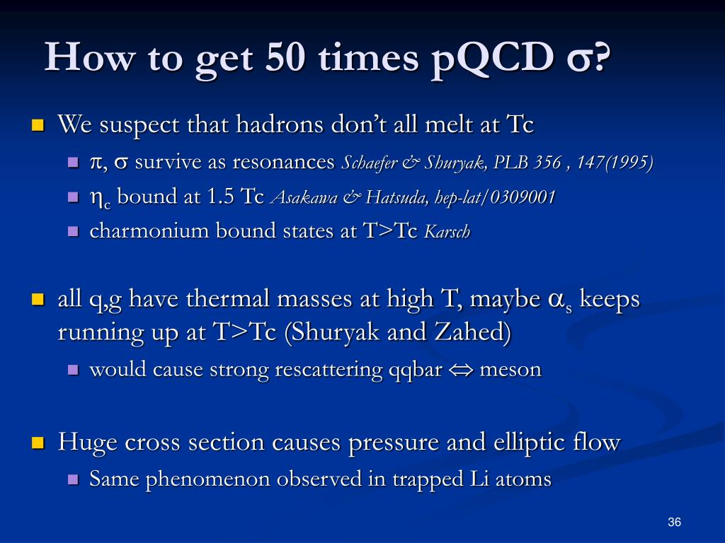 How to get 50 times pQCD