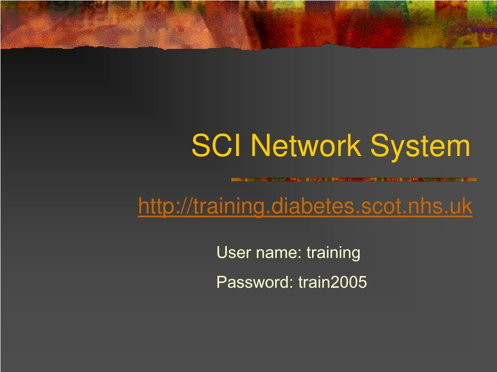 SCI Network System