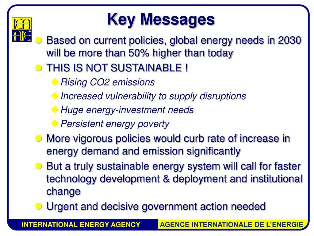 Key Messages