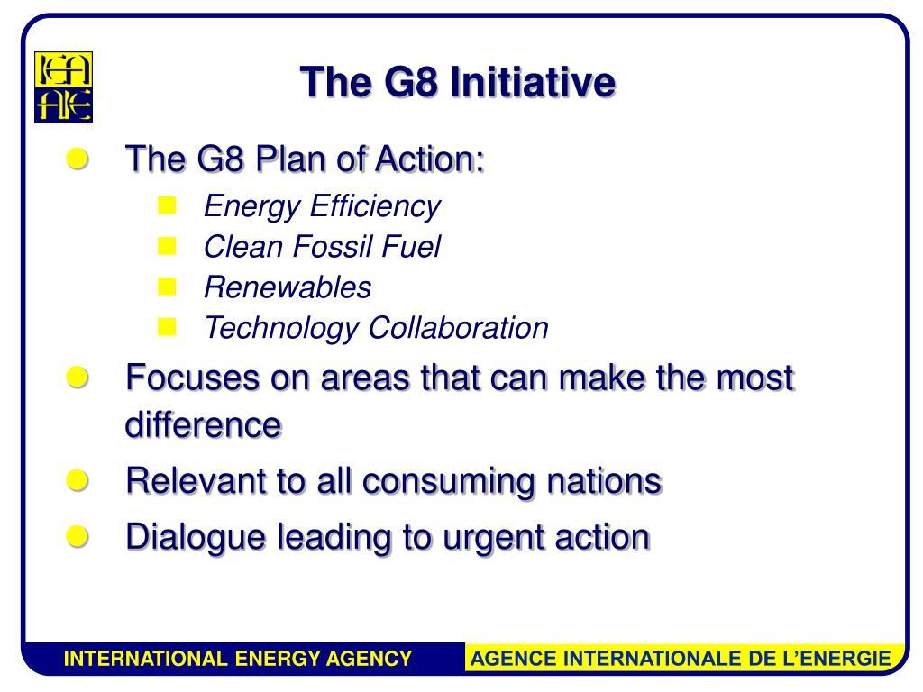 The G8 Initiative