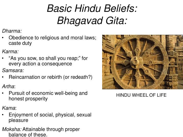 Basic Hindu Beliefs: