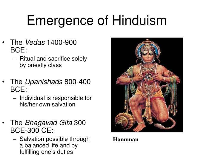 Emergence of Hinduism