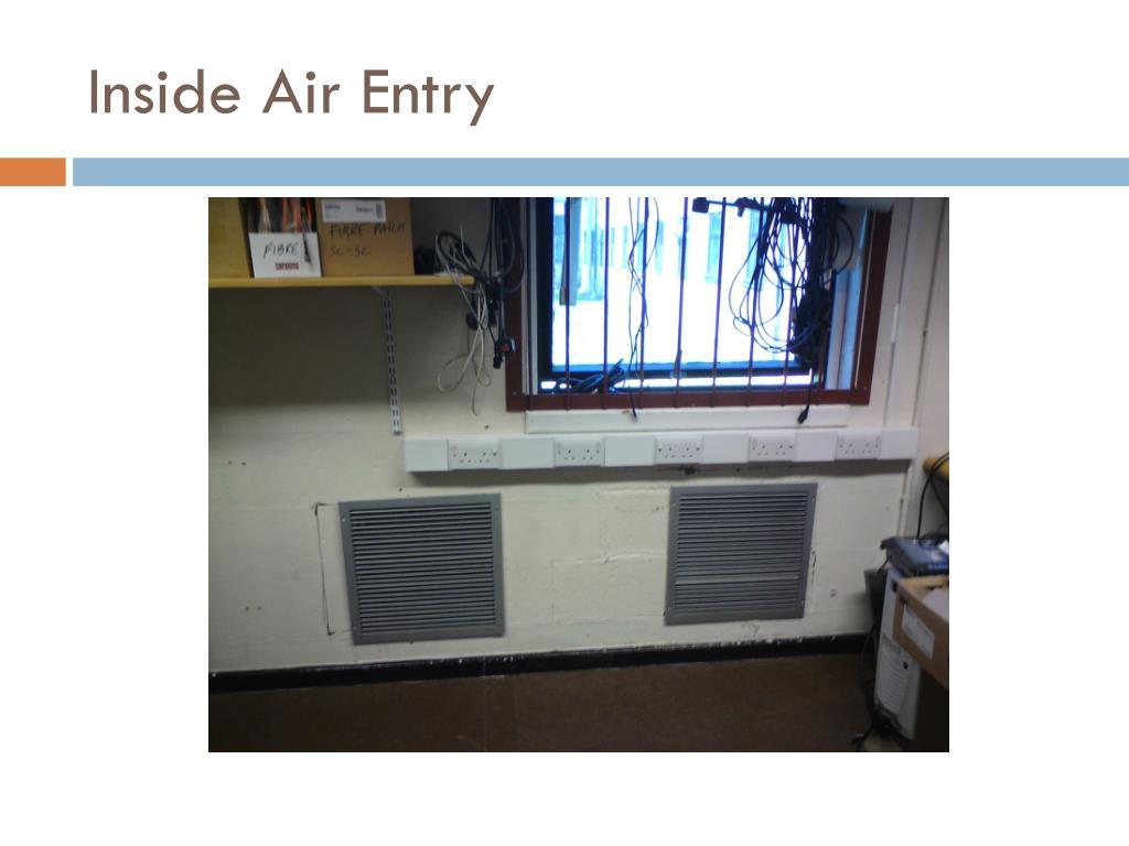Inside Air Entry