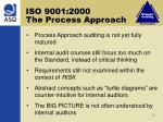iso 9001 2000 the process approach
