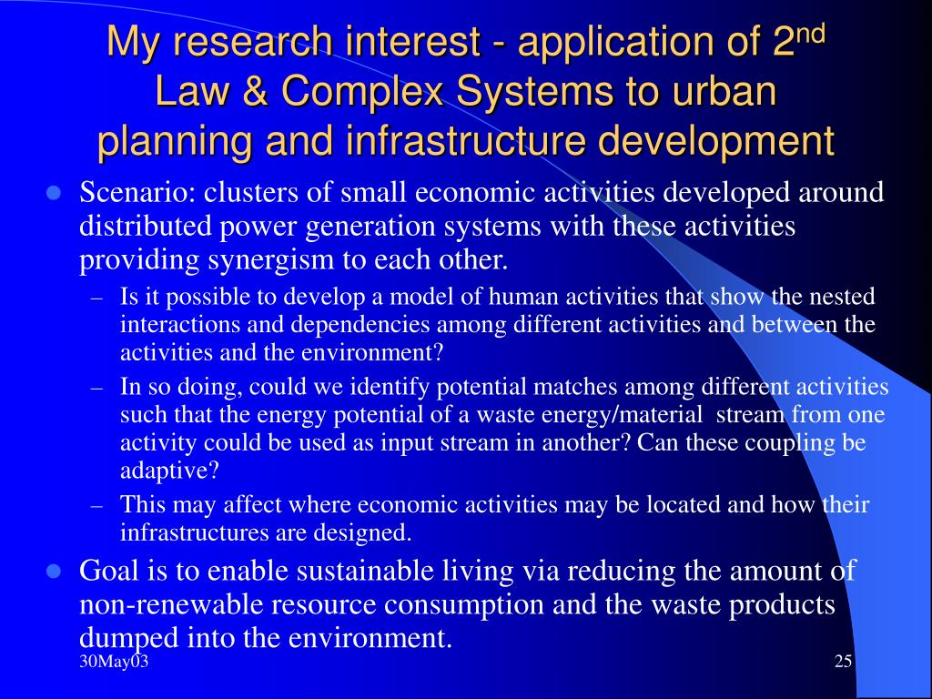 My research interest - application of 2