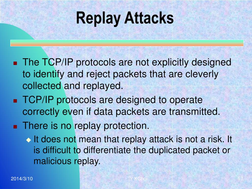 Replay Attacks