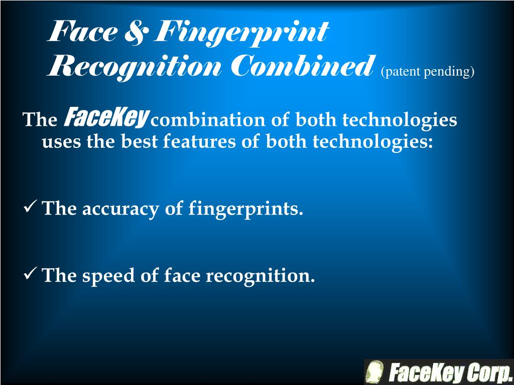 Face & Fingerprint Recognition Combined