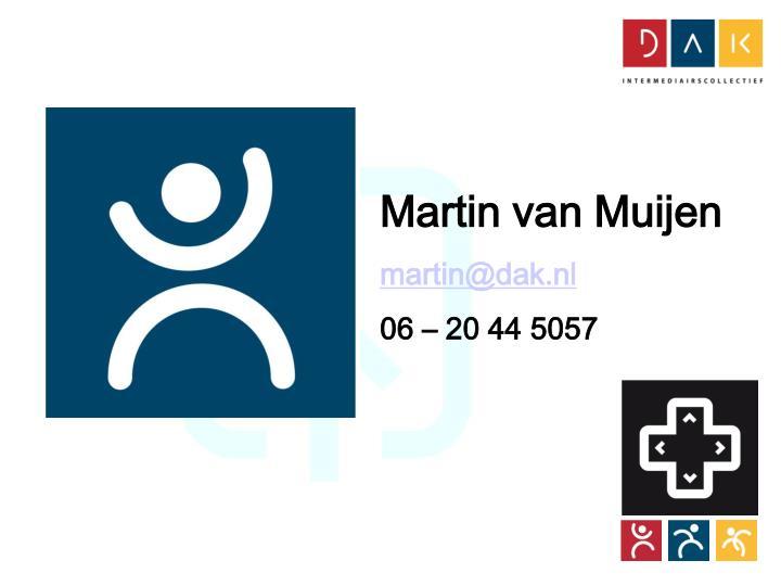 Martin van Muijen