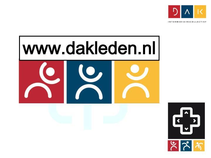 www.dakleden.nl