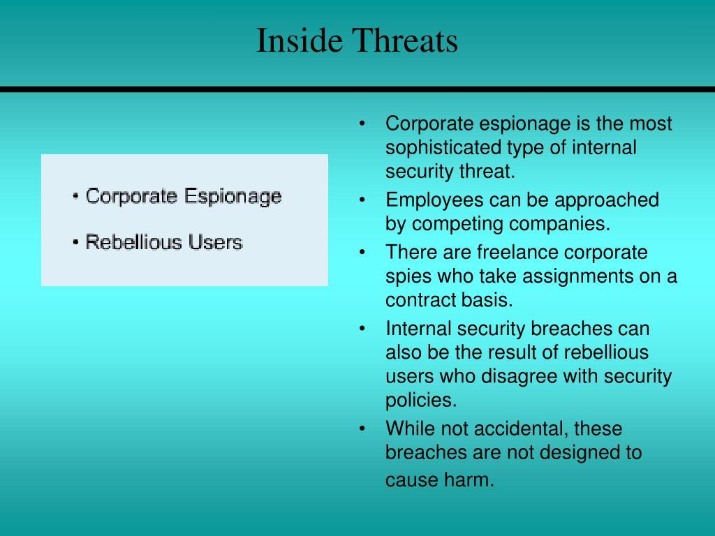 Inside Threats