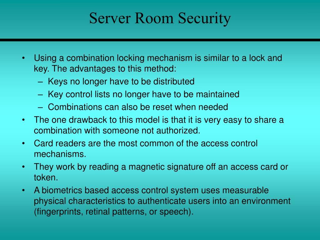 Server Room Security