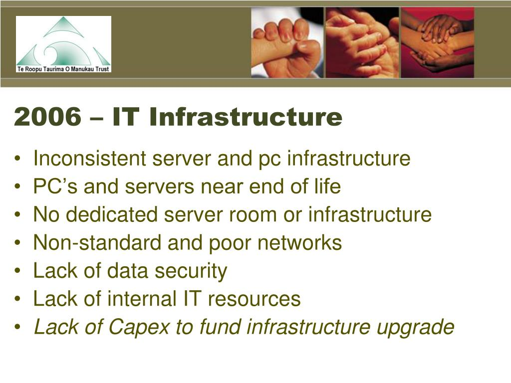 2006 – IT Infrastructure