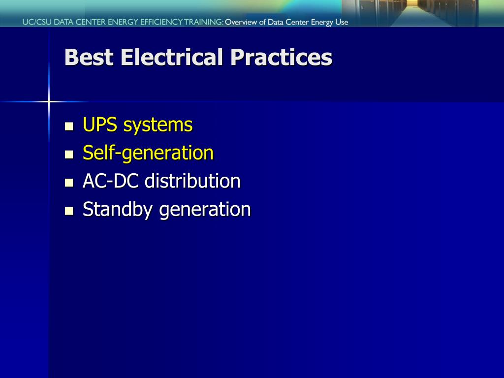 Best Electrical Practices