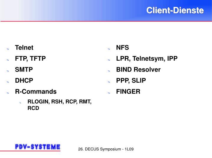 Client-Dienste