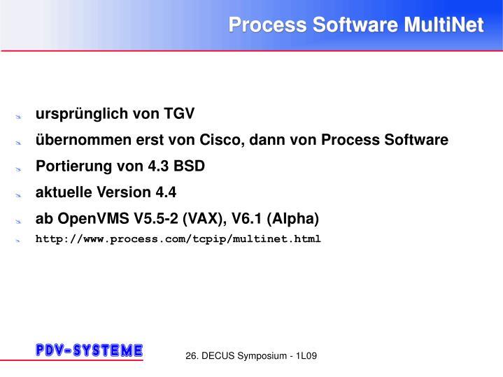 Process Software MultiNet