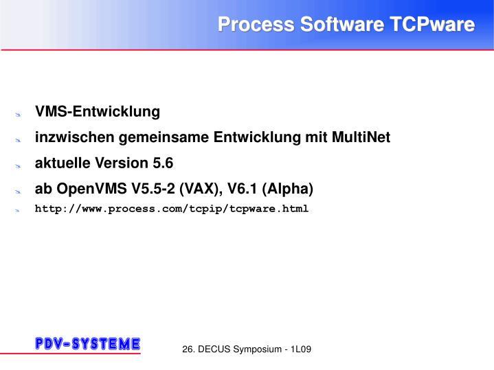 Process Software TCPware